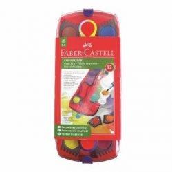 2375 ACUARELAS FABER CASTELL Connector 12 Unidades   CAJA   Art. 6570