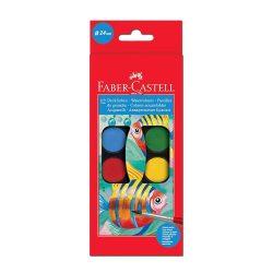 44155 ACUARELAS FABER CASTELL 12 Colores   Estuche   Art. 12 50 11