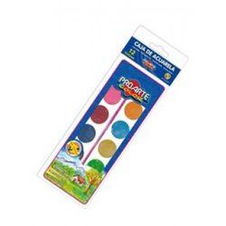 5796 ACUARELAS PROARTE 12 Colores Con Caja Plastica