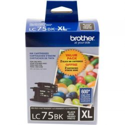 CARTUCHO BROTHER LC - 75  XL   Negro   Toner  Original