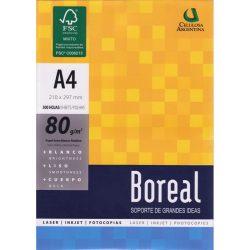 1602 RESMA BOREAL IRAM A4      80 Grs. 210 x 297 Cm. 500 Hs.