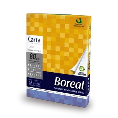 17231 RESMA BOREAL CARTA Fot. 80 Grs. 216 x 279 Cm. 500 Hs.
