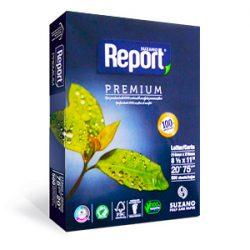 8942 RESMA REPORT CARTA Fot. 75 Grs.  216 x 279 Cm.  500 Hs.