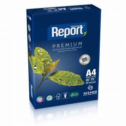 8944 RESMA REPORT IRAM A4      75 Grs.  210 x 297 Cm.  500 Hs.