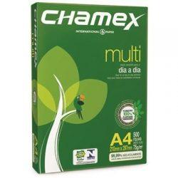 8941 RESMA CHAMEX IRAM A4     80 Grs.  210 x 297 Cm. 500 Hs.
